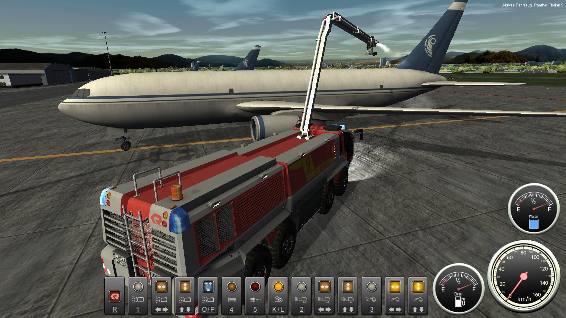 Airport Firefighter Simulator | macgamestore.com