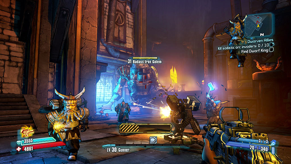 how to play borderlands 2 online