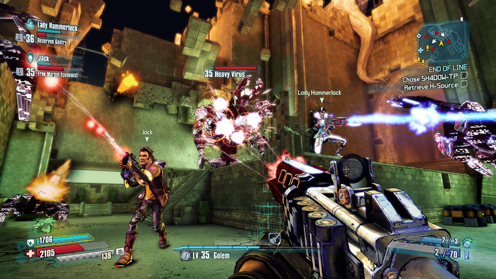 Borderlands: The Pre-Sequel! - Ultimate Vault Hunter Upgrade Pack: The Holodome Onslaught 2014 pc game Img-2