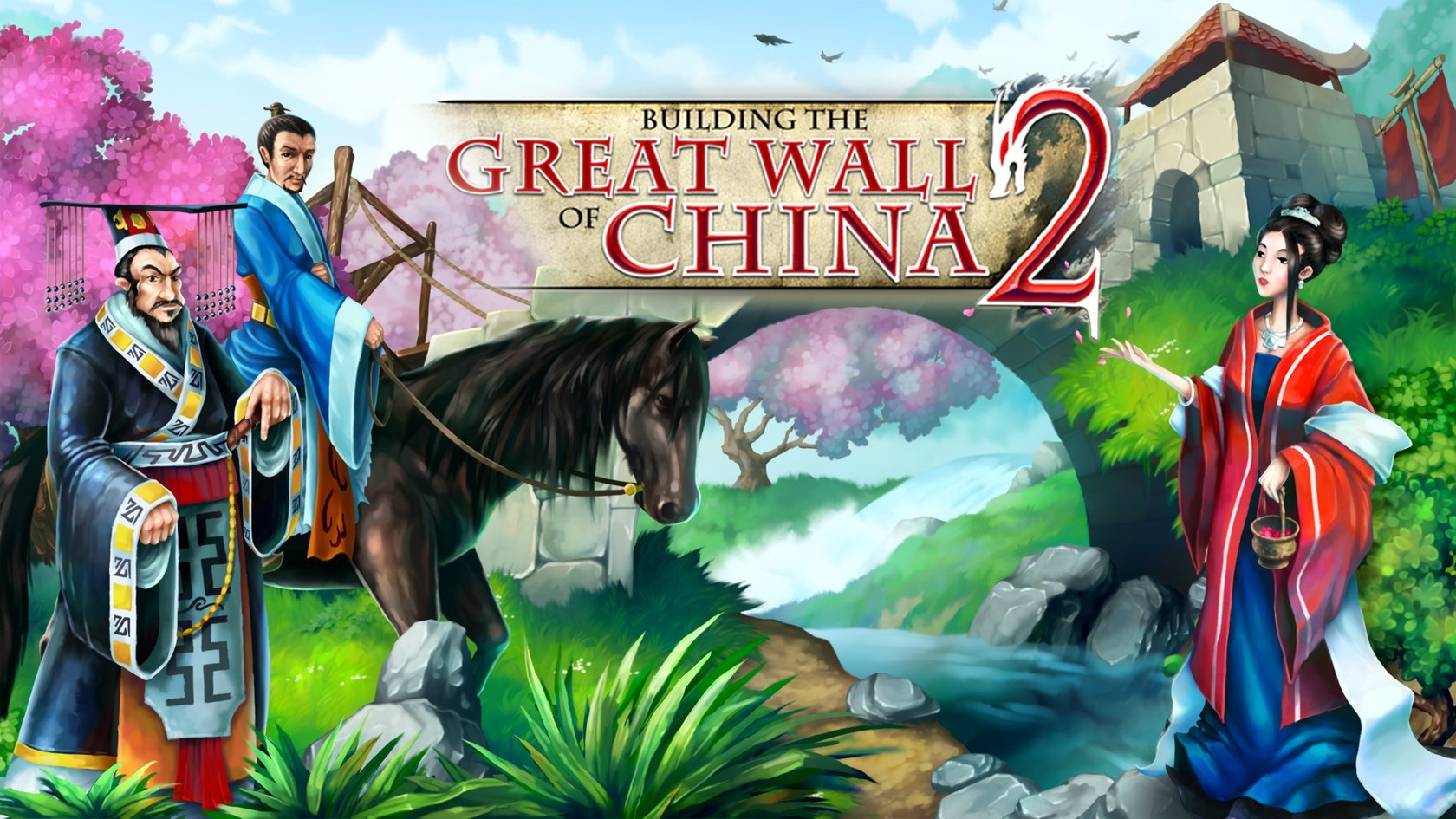 Building the Great Wall of China 2 - Big Fish Games