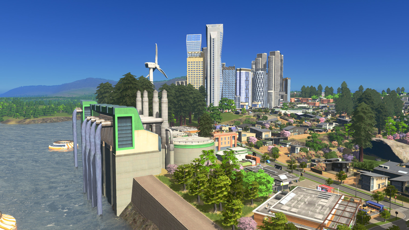 Cities skylines green cities for Us city skylines photos
