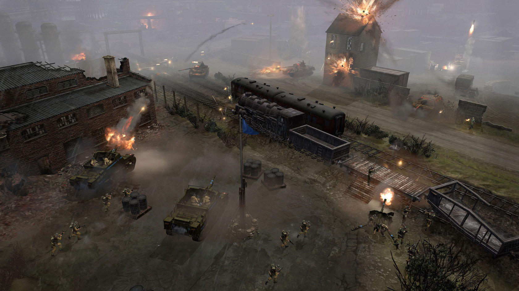company of heroes 2 vs 1