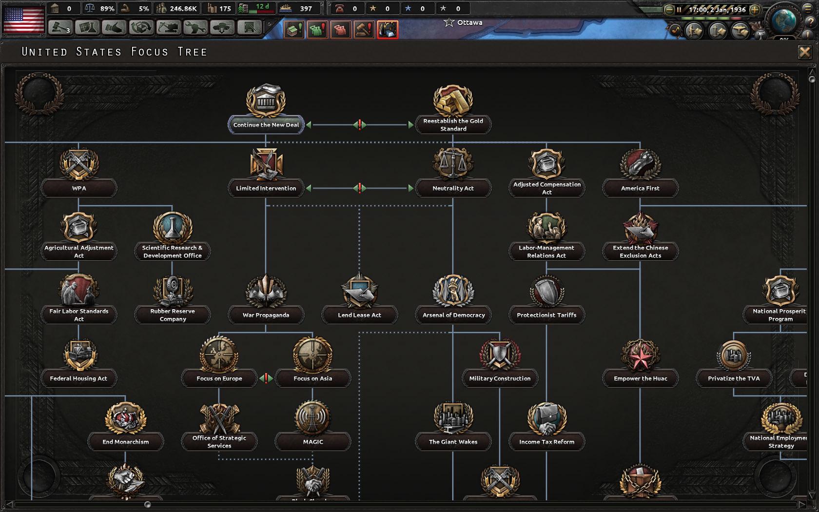 Hearts of Iron IV: Man the Guns   macgamestore com