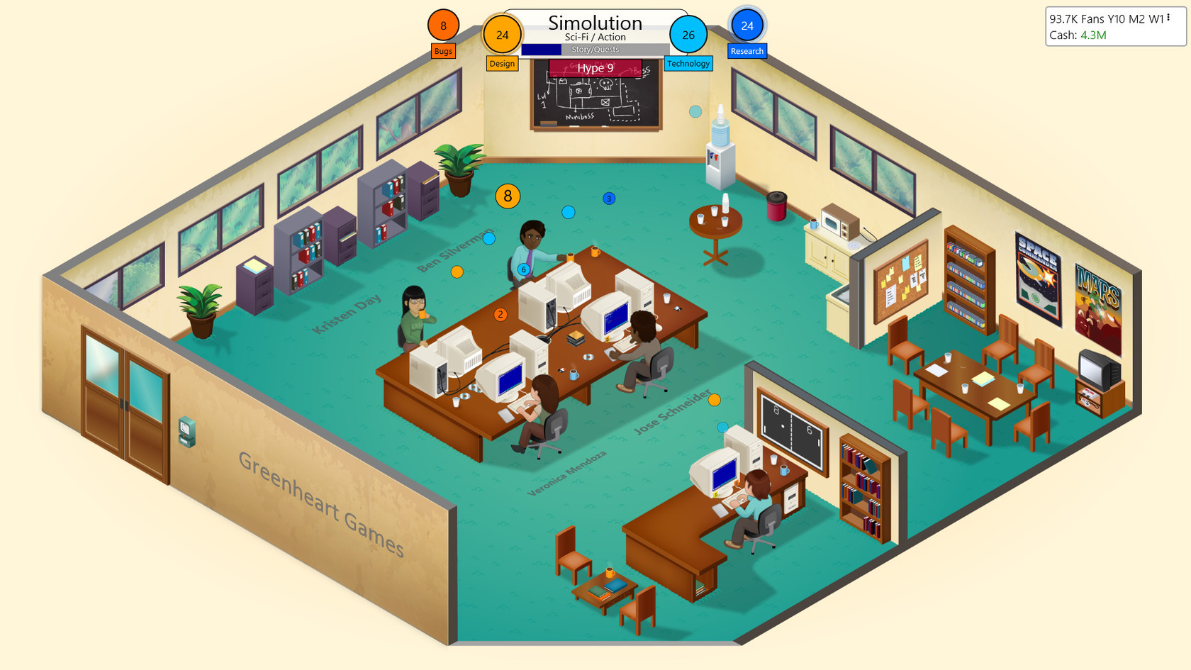Game dev tycoon for Business tycoon