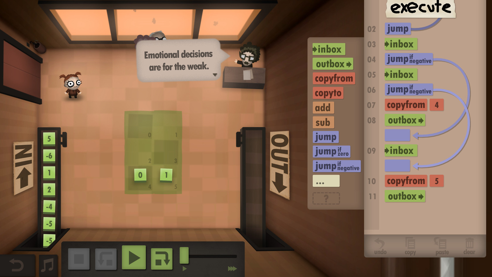 human resource machine year 9