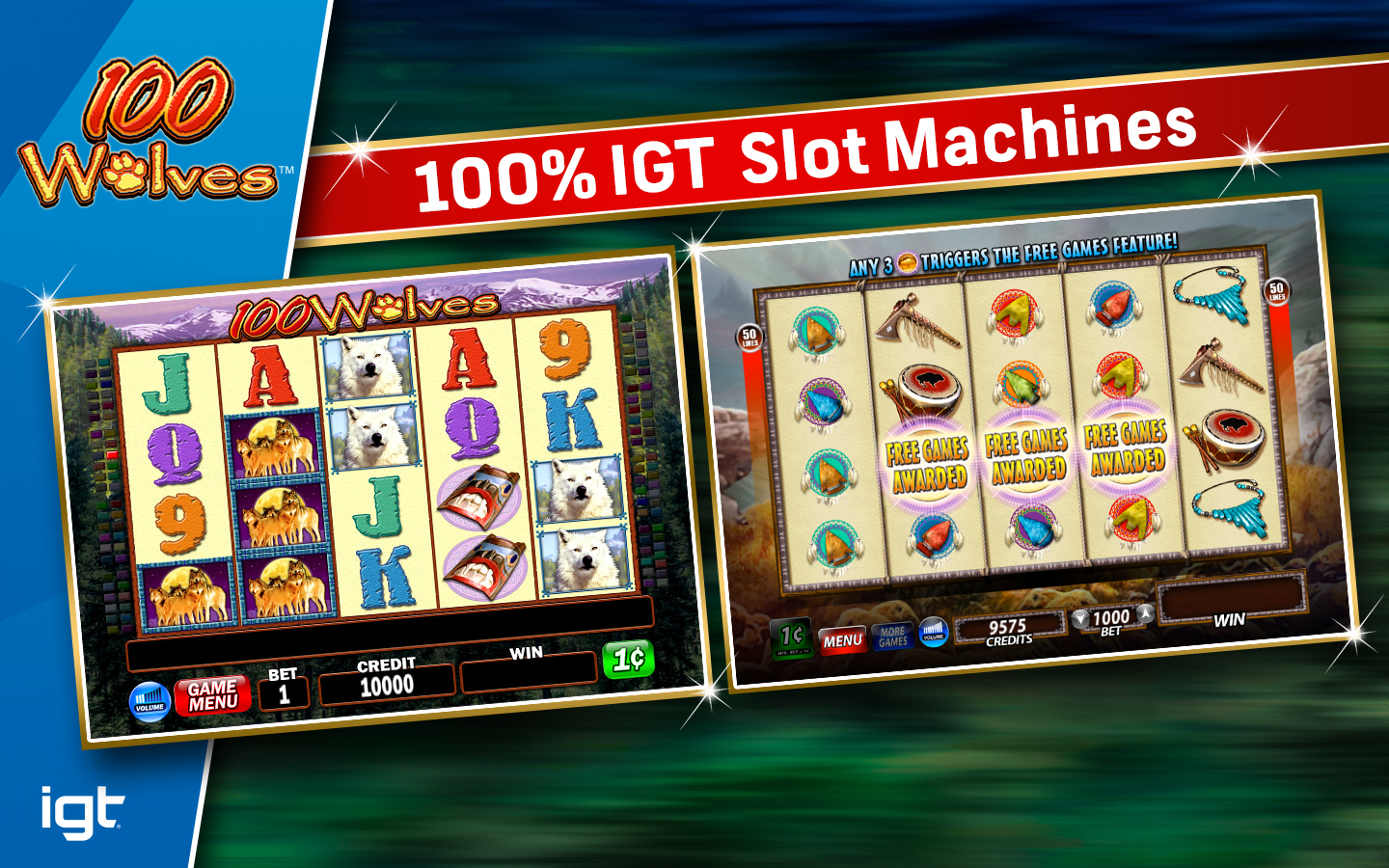 Howling wolves slots