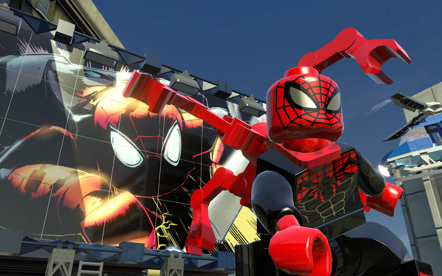 Lego marvel super heroes screenshot 2