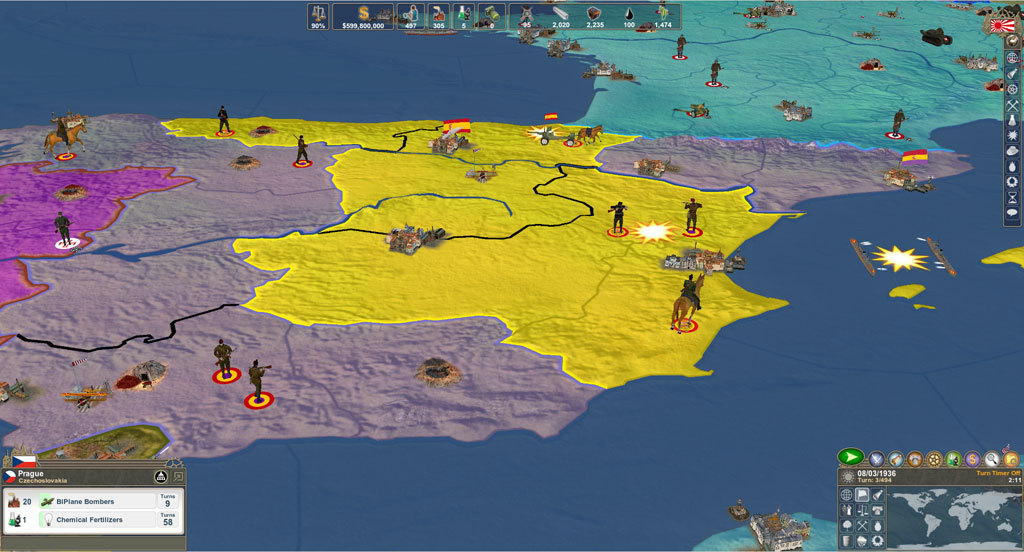 Making History Ii The War Of The World Macgamestore Com