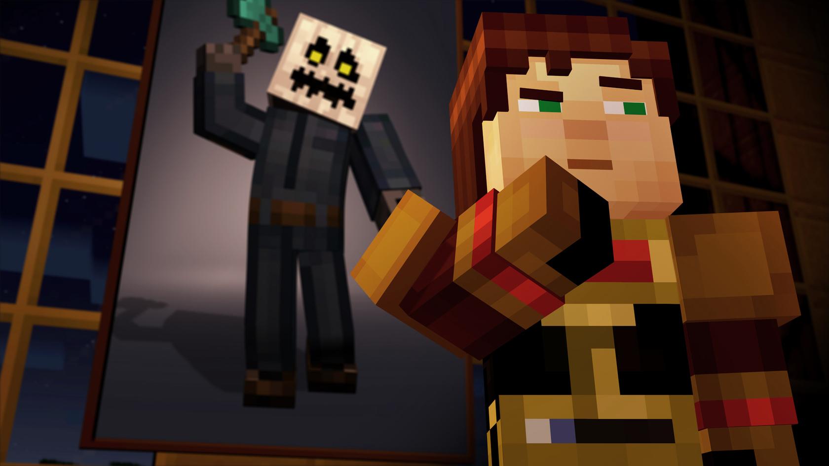 Minecraft story mode 1 8 эпизод скачать на русском.