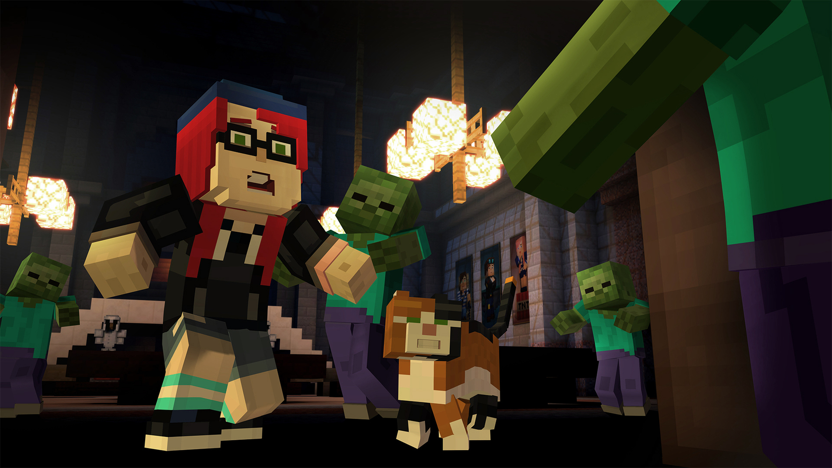 Minecraft story mode adventure pass for The game mind craft