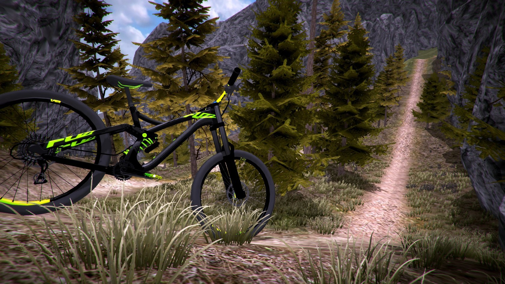 Fast In German >> MTB Downhill Simulator | macgamestore.com