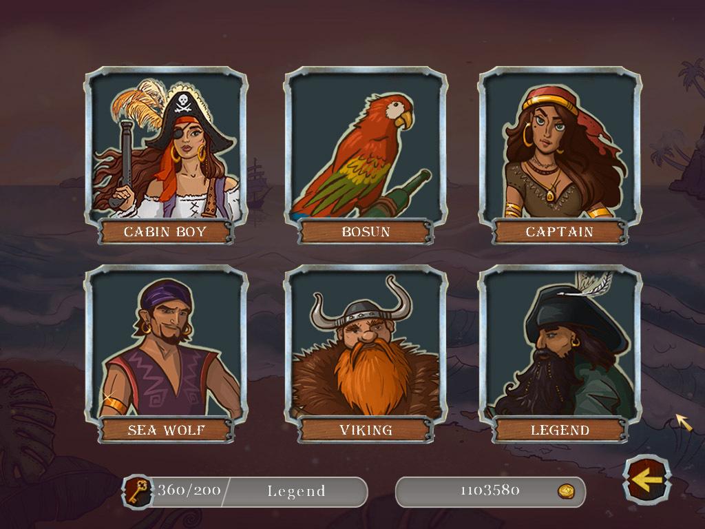 Pirate Mosaic Puzzle Caribbean Treasures Macgamestore Com