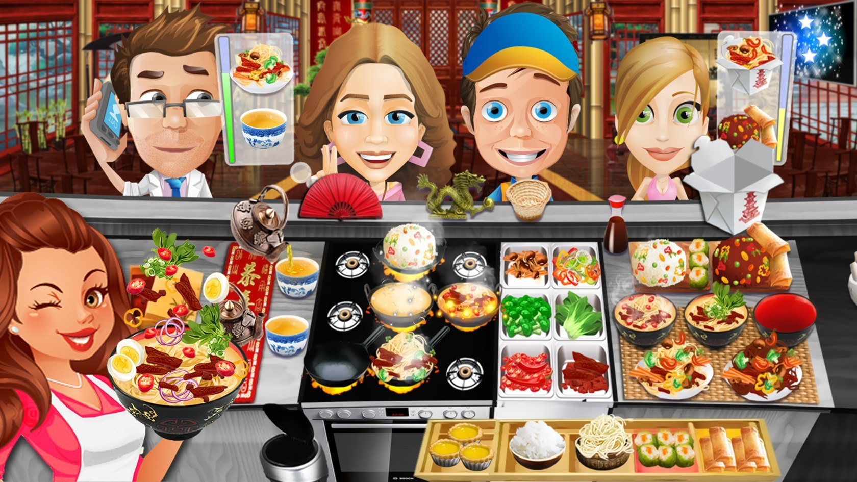 Kitchen Scramble: Cooking Game Mod | Android Apk Mods |Food Games