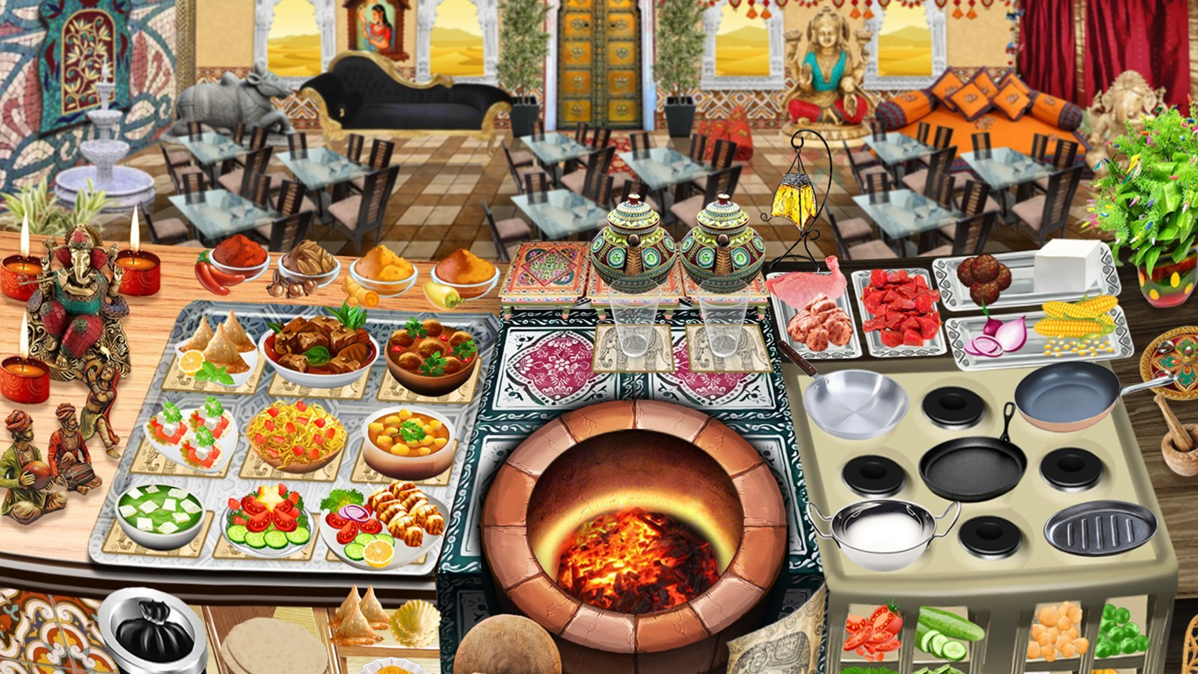 Play Chinese Food Cooking Games