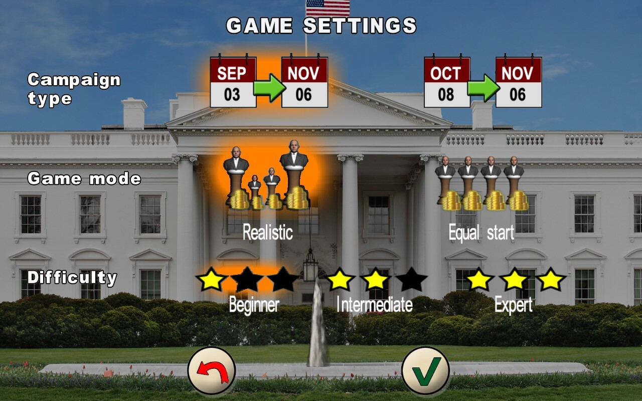 ... The Race For The White House Screenshot 4 ...