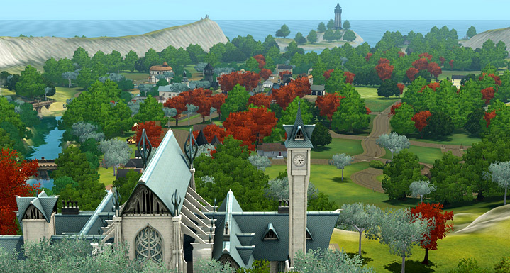 how to delete dragon valley from sims 3
