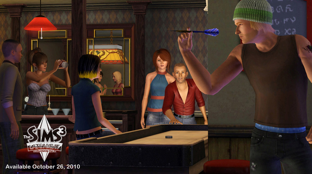 sims 3 late night game play online