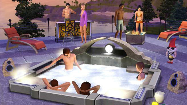 how to buy a hot tub in sims 2