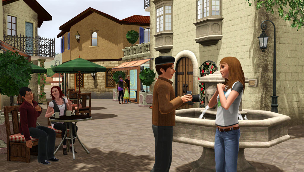 Online dating adventure sims 3