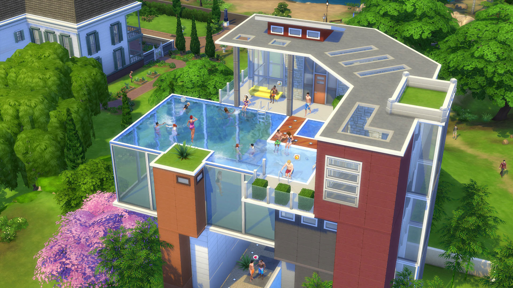 The sims 4 for Pool design sims 4