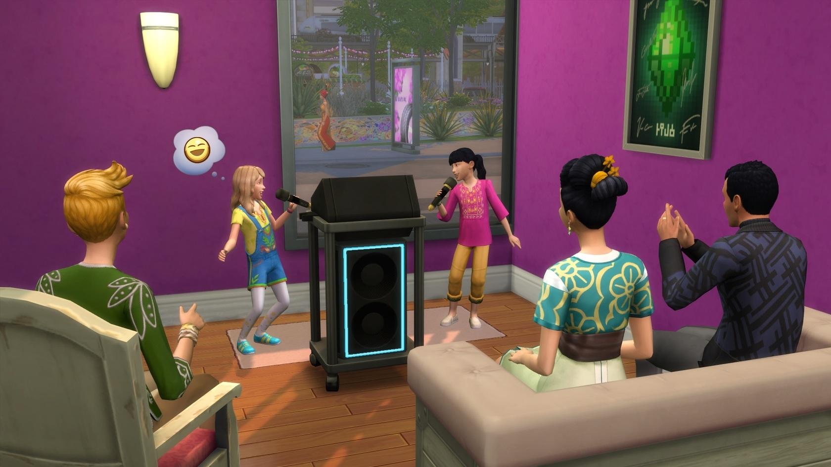 sims 4 how to get city living