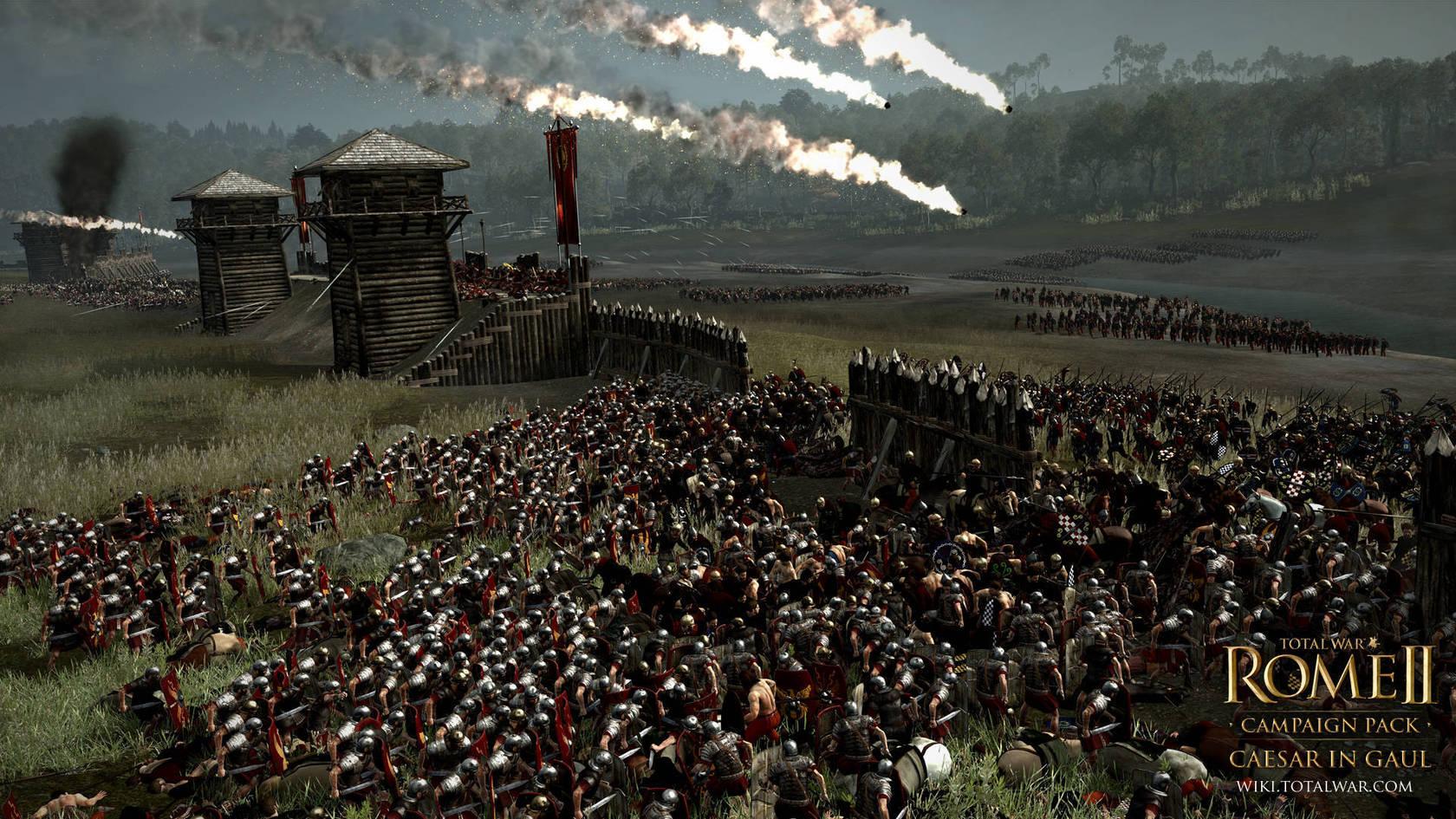 Total War: ROME II - Caesar in Gaul Campaign Pack | macgamestore.com