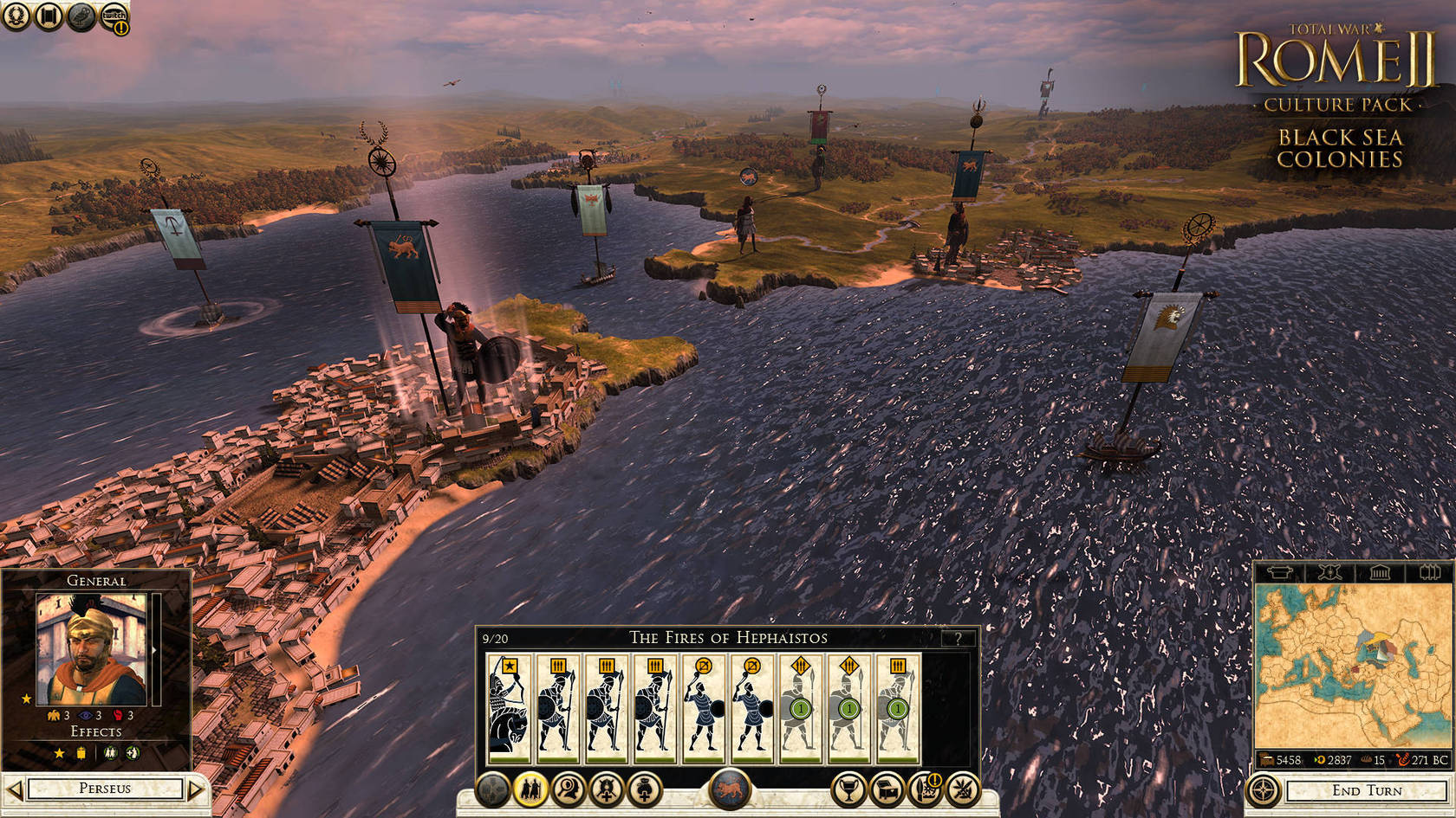 Total War: ROME II - Black Sea Colonies Culture Pack | macgamestore.com