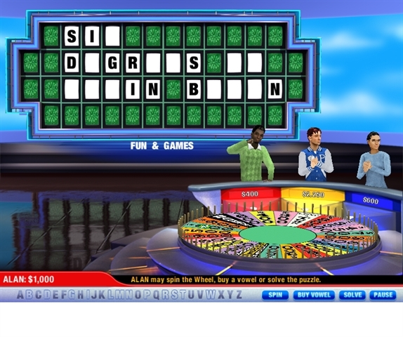 wheel of fortune mac os x