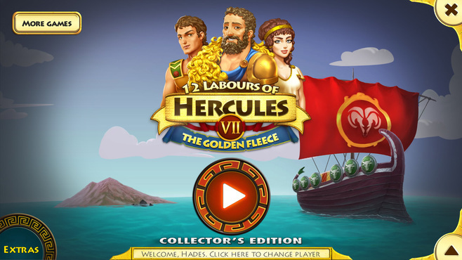 12 Labours of Hercules VII: Fleecing the Fleece Collector's Edition Screenshot 1