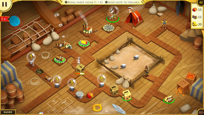 12 Labours of Hercules VIII: How I Met Megara Collector's Edition Screenshot 6
