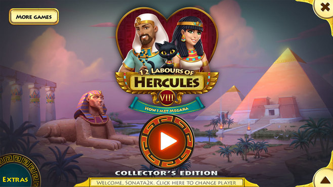 12 Labours of Hercules VIII: How I Met Megara Collector's Edition Screenshot 1