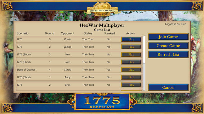1775: Rebellion Screenshot 1