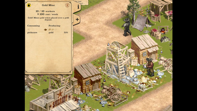 1849 Gold Edition Screenshot 2