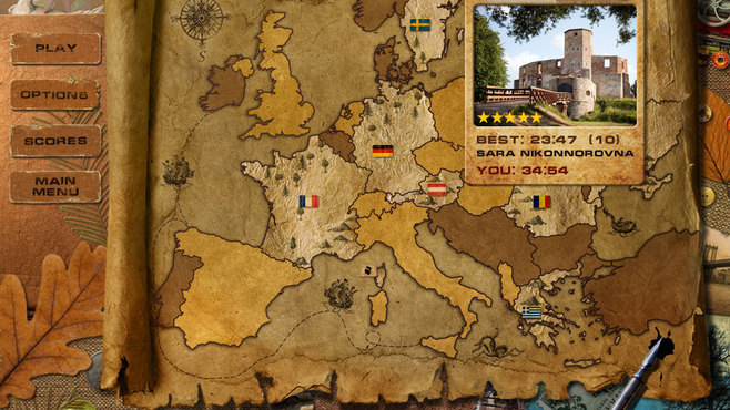 Adore Puzzle 2: Flavors of Europe Screenshot 1