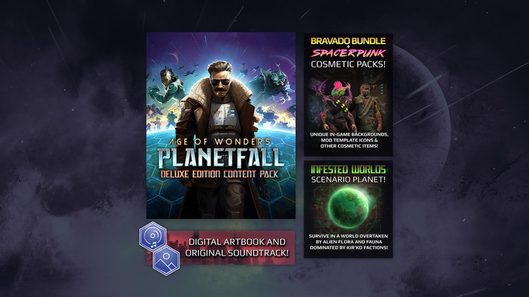 Age of Wonders: Planetfall Deluxe Edition Content Pack Screenshot 4