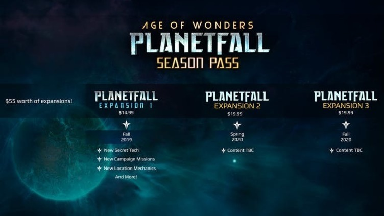 Age of Wonders: Planetfall Season Pass Screenshot 1