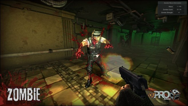 Axis Game Factory's AGFPRO + ZOMBIE Screenshot 2