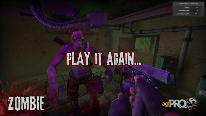Axis Game Factory's AGFPRO Zombie FPS Player DLC Screenshot 4