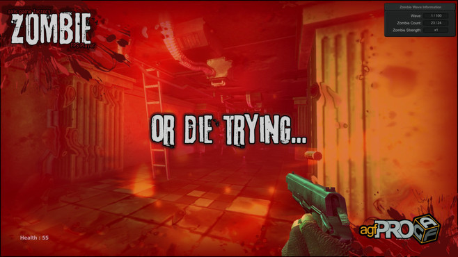 Axis Game Factory's AGFPRO Zombie FPS Player DLC Screenshot 7