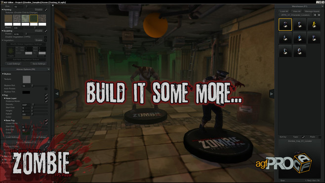 Axis Game Factory's AGFPRO Zombie FPS Player DLC Screenshot 3