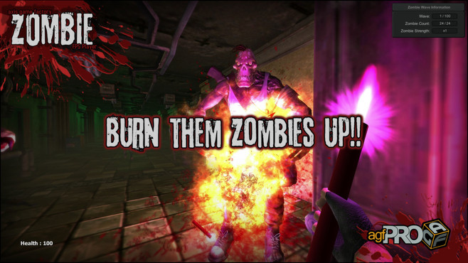 Axis Game Factory's AGFPRO Zombie FPS Player DLC Screenshot 6