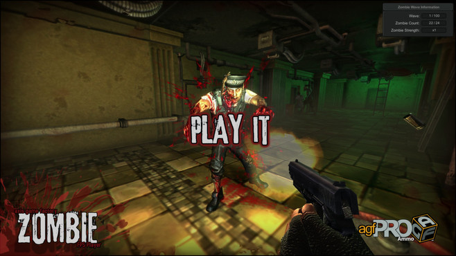 Axis Game Factory's AGFPRO Zombie FPS Player DLC Screenshot 2