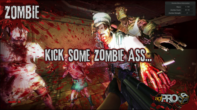 Axis Game Factory's AGFPRO Zombie FPS Player DLC Screenshot 5