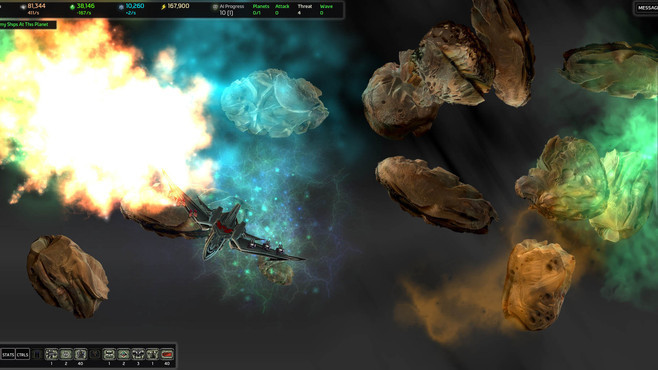 AI War: Ancient Shadows Screenshot 1