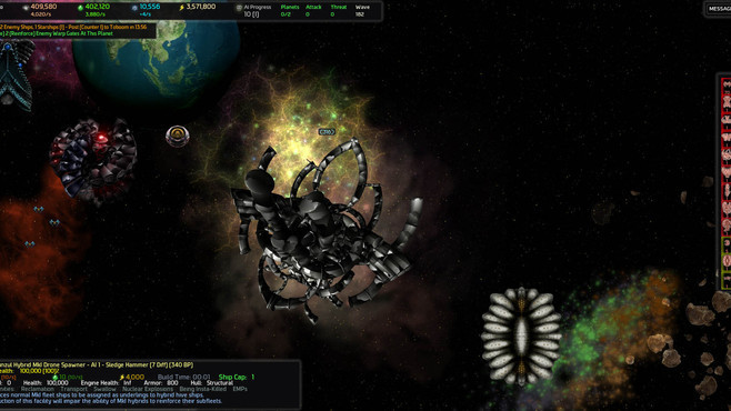 AI War: Children of Neinzul Screenshot 4