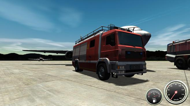 Airport Firefighter Simulator Screenshot 1
