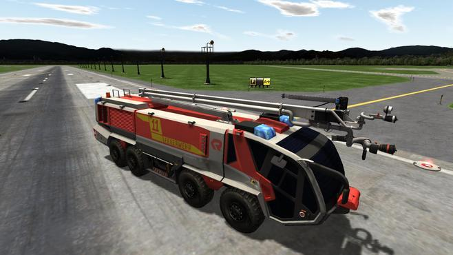 Airport Firefighter Simulator Screenshot 4