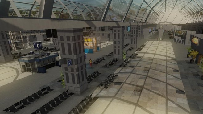 Airport Firefighter Simulator 2013 Screenshot 1