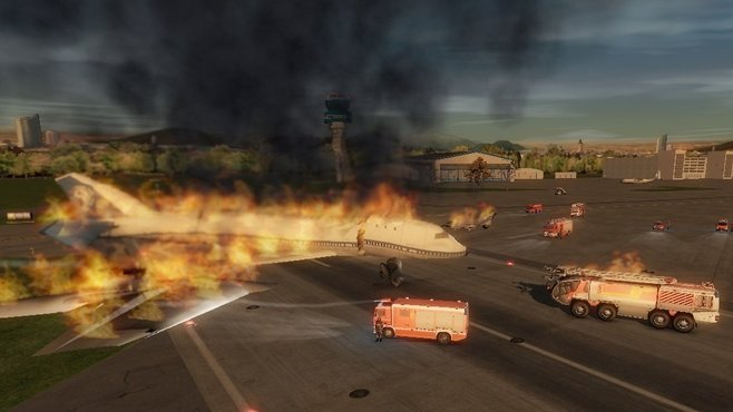 Airport Firefighter Simulator 2013 Screenshot 7