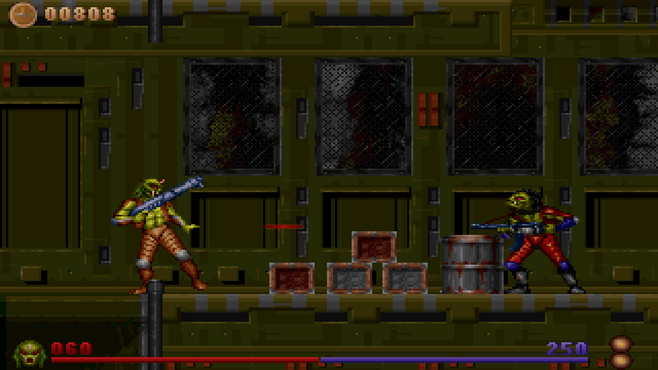 Alien Rampage Screenshot 2